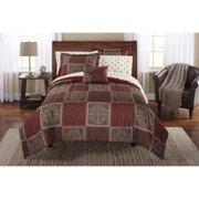 Mainstays Tiles Bed in a Bag Bedding Comforter Set