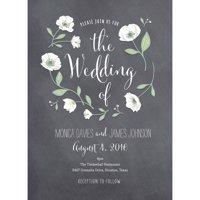 Wedding Flowers Standard Wedding Invitation