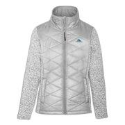 22d1b47328 High Sierra Funston Women Hybrid Insulated Full Zip Gray Jacket Lightweight  Coat