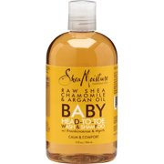 Shea Moisture Baby Head-To-Toe Wash & Shampoo Raw Shea Chamomile & Argan Oil, 13 oz