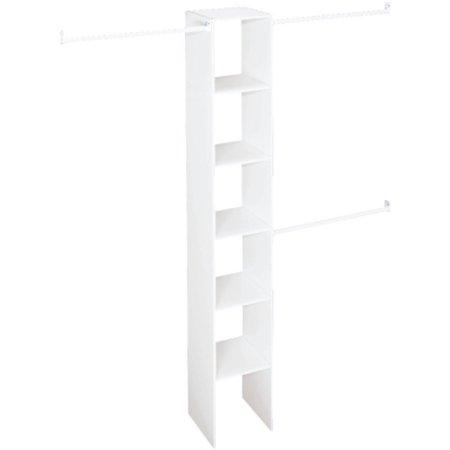 "Closetmaid Vertical Closet Organizer, 12"", White"