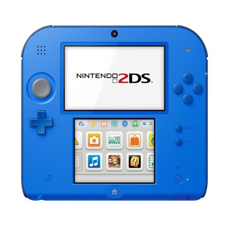 Nintendo 2DS System with New Super Mario 2, Blue,