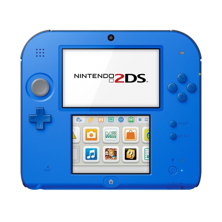 Nintendo 2DS System with New Super Mario 2, Blue, FTRSBCDV ()