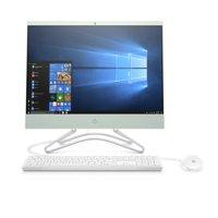 """Refurbished HP 22-c0073w All-in-One PC, 22"""" Display, Intel Celeron G4900T 2.9 GHz, 4GB RAM, 1TB HDD"""