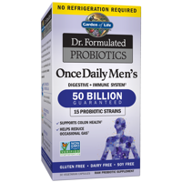 Garden of Life Dr. Formulated Probiotics Once Daily Men's Shelf Stable 30 Capsules