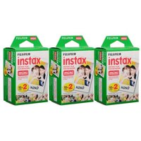 Fujifilm Instax Mini Instant Film (3 Twin Packs, 60 Total Pictures) Value Set