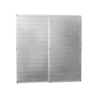 Galvanized Steel Metal Pegboard Pack - Two Pegboard Tool Boards