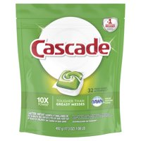 Cascade ActionPacs Dishwasher Detergent, Fresh, 32 count