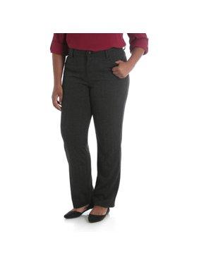 115d3f91857 Product Image Lee Riders Women s Plus Ponte Knit Straight Leg Pant
