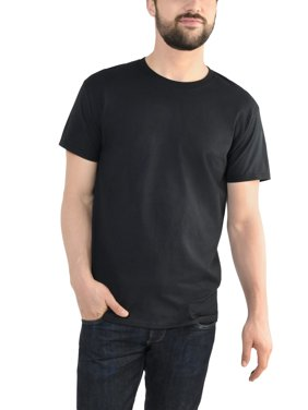 Product Image Fruit Of The Loom Mens Platinum Eversoft Short Sleeve Crew T Shirt Up To Size