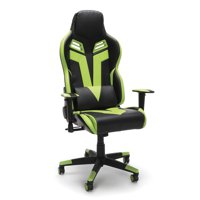 RESPAWN-104 Racing Style Gaming Chair - Reclining Ergonomic Leather Chair, Office or Gaming Chair, Green (RSP-104)