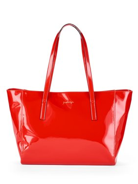 Product Image Kendall + Kylie for Walmart Red Patent Tote cb1e5f5ce7