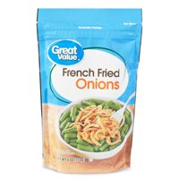Great Value French Fried Onions, 6 oz, 3 Pack