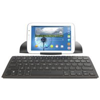 Digitl Premium Wireless Keyboard Bluetooth Travel Stand for Apple iPhone X/8/7 8 7 6 Plus w/Island-Style Keys and Back lit Functionality (with or without case)