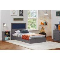 Ameriwood Home Skyler Twin Bed with Reversible Headboard, Multiple Colors