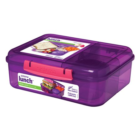 Wild Animals Lunch Box - Rubbermaid Sistema Bento Lunch To Go