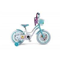 Micargi ELLIE-G-16-WHI-BBL 16 in. Girls Bicycle, White & Baby Blue - 18 x 7 x 36 in.