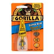 Gorilla Super Glue Brush & Nozzle,10g