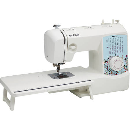 Sewing Machine Head (Brother 37-Stitch Full-Featured Sewing and Quilting Machine with 8 Sewing Feet, Wide Table and Instructional DVD, XR3774)