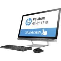 """HP Pavilion 24-b010 23.8"""" Touchscreen AIO Computer AMD A9-9410 8GB 1TB Refurb"""