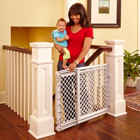 Duty Slide Gate (North States Heavy Duty Stairway Baby Gate,)