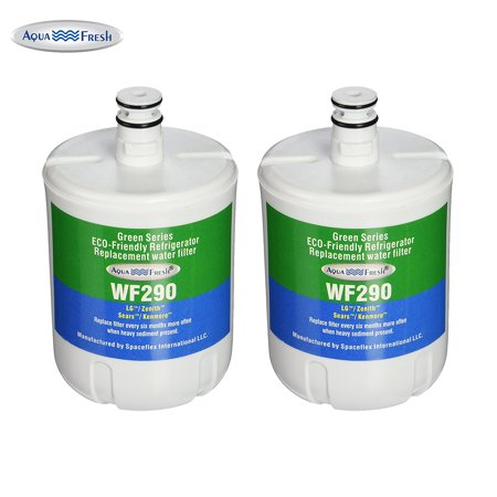 Replacement Water Filter For LG LSC23924SW Refrigerator Water Filter by Aqua Fresh (2 - Appliance Fx