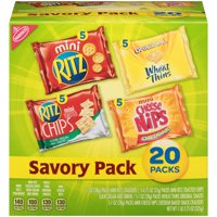 Nabisco Savory Variety Cracker Pack, 18.75 Oz., 20 Count