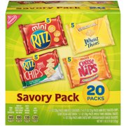Nabisco Cracker Variety Pack, Savory, 20 Ct