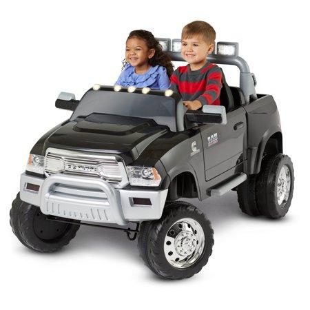 Kid Trax Ram 3500 Dually 12V Battery Powered Ride-On, Black - Walmart.com