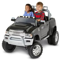 Kid Trax Ram 3500 Dually 12V Battery Powered Ride-On, Black