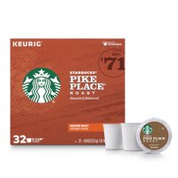 Starbucks Pike Place Roast K-Cup Coffee Pods, Medium Roast, 32 Count