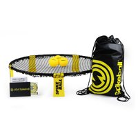 Spikeball 3 Ball Set. Includes playing net, 3 balls, drawstring bag and rule book