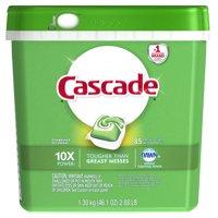 Cascade ActionPacs Dishwasher Detergent, Fresh Scent, 85 count