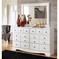 Signature Design by Ashley Weeki 6 Drawer Dresser with Optional Mirror