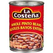 La Costena Whole Pinto Beans, 19.75 Oz