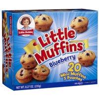 Little Debbie Snacks Blueberry Little Muffins, 5 ct