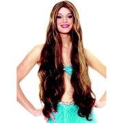 Atlantis Long Mystical Mermaid Hippie Witch Womens Costume Wig 3259685b76