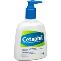Cetaphil Daily Facial Cleanser for Normal to Oily Skin, 8 Oz