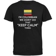 Don't Do Calm - Colombian Black Adult T-Shirt