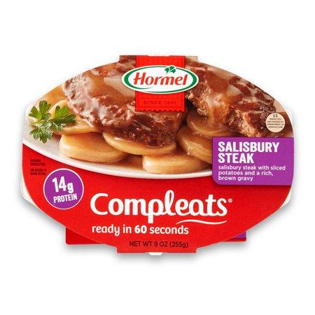 (6 pack) Hormel Compleats Salisbury Steak, 9