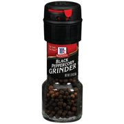 McCormick® Blacl Peppercorn Grinder, 1 oz. Bottle