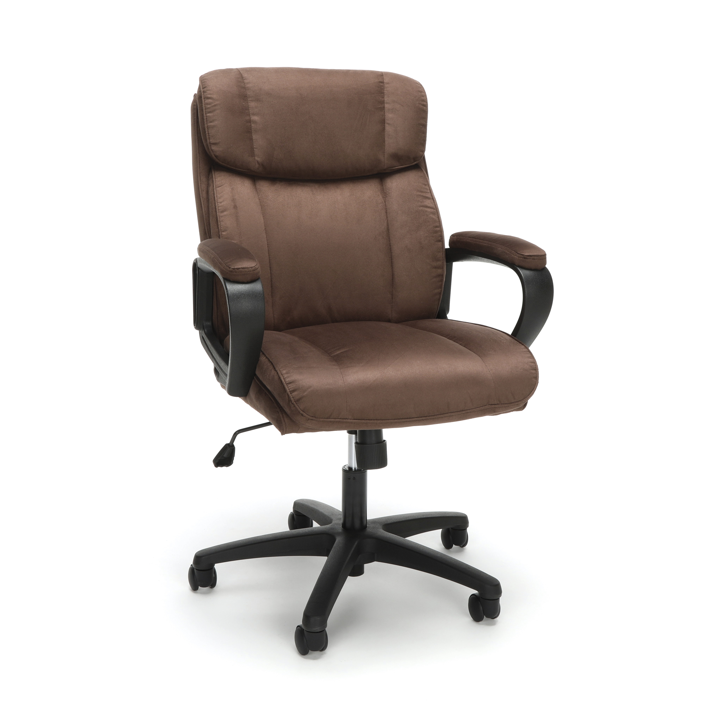 Essentials By OFM ESS 3082 Plush Microfiber Office Chair, Brown
