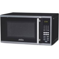 Sunbeam 0.7 Cu. Ft. Digital Microwave, Stainless Steel