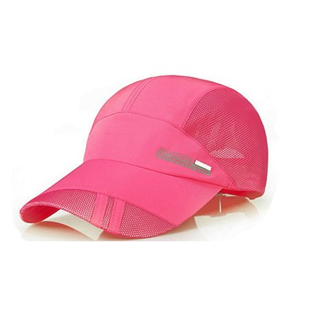 PaZinger Summer Baseball Cap Quick Dry Mesh Back Cooling Sun Hats Flexfit Sports Caps for Golf Cycling Running Fishing Outdoor (Running Wool Hat)