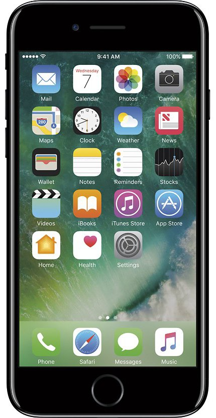 Unlocked GSM Apple iPhone 7 32GB, Jet Black](iphone 7 unlocked new)