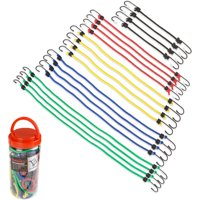 Stalwart 20-Piece Bungee Cord Assortment in Plastic Jar