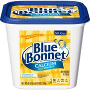 BLUE BONNET Calcium Soft Spread with Vitamin D, Vegetable Oil Spread, 45 oz.