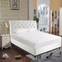 250-Thread Count Luxury Quilted Cotton Mattress Pad by Newpoint