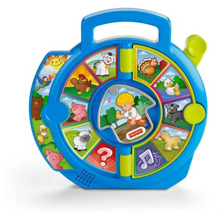 Little People World of Animals See 'N Say with 2-Pages - Magnetic Toys For Toddlers
