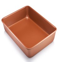 "Gotham Steel Bakeware - Nonstick Copper XL 9"" x 13"" Cooking & Baking Pan - As Seen on TV!"
